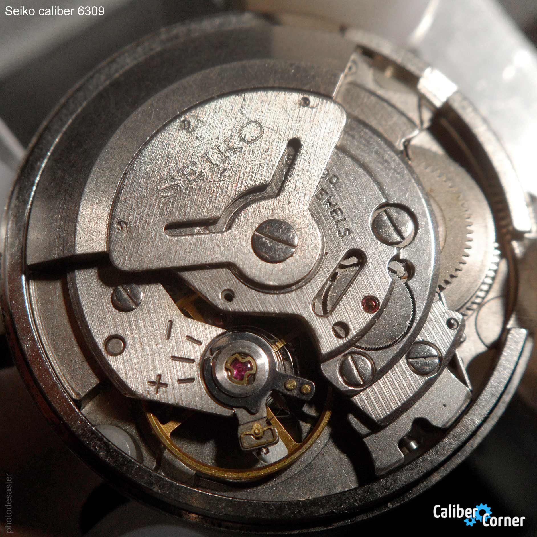 Seiko caliber 6309
