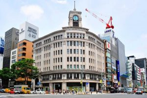 Seiko Building in Ginza Japan by timfranklinphotography