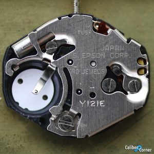 Seiko Epson Hattori Japan caliber Y121 Watch Movement