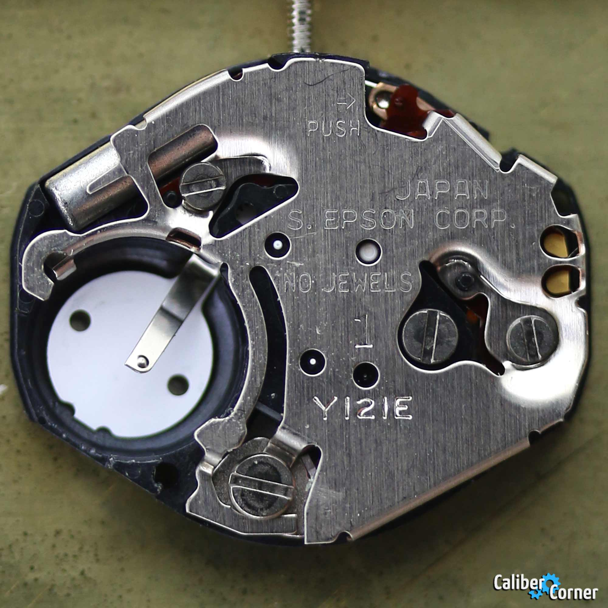 Seiko Epson Hattori Japan caliber Y121 Watch Movement