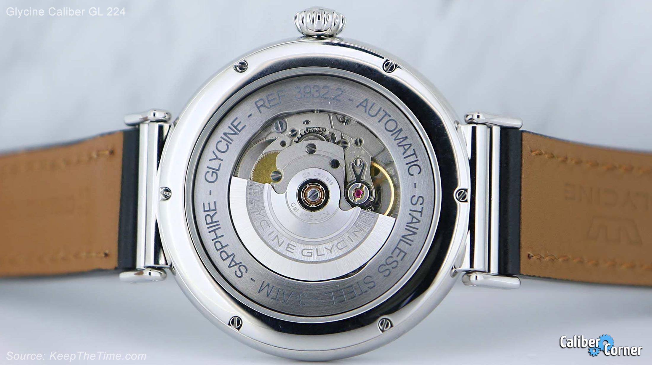 Glycine Caliber Gl224 F 104 Watch