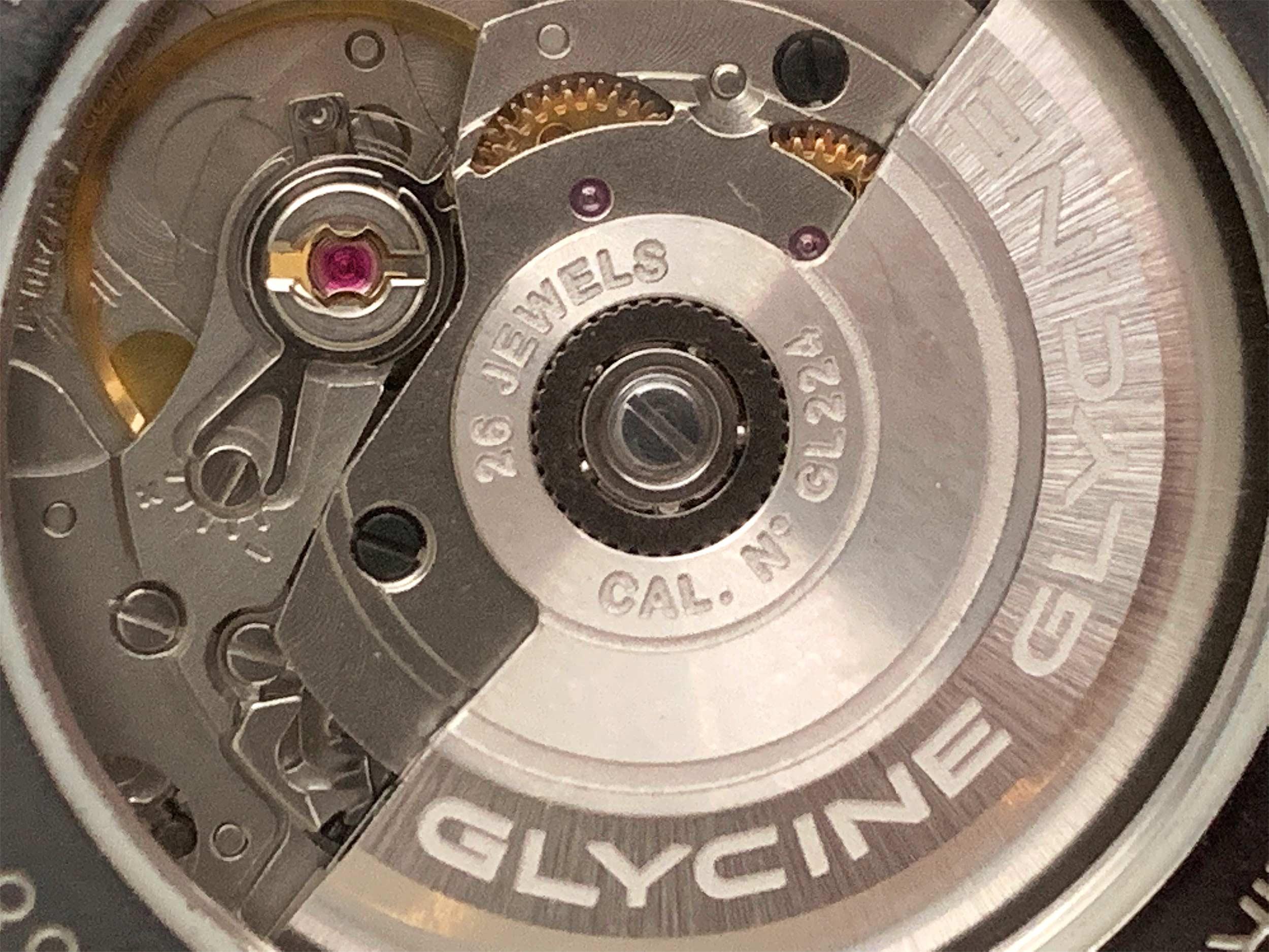 Glycine Caliber Gl224 Sw200 1
