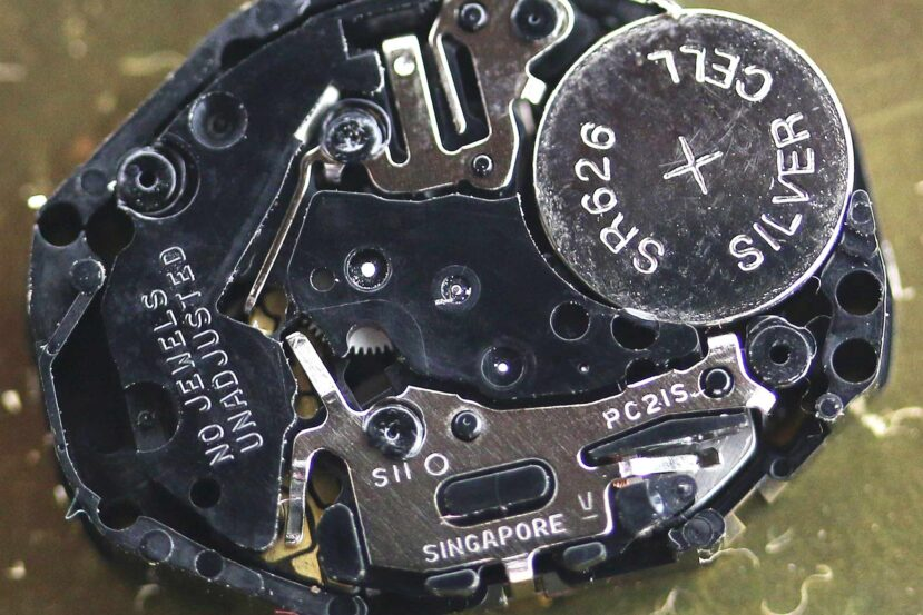 Seiko TMI SII caliber PC21S movement