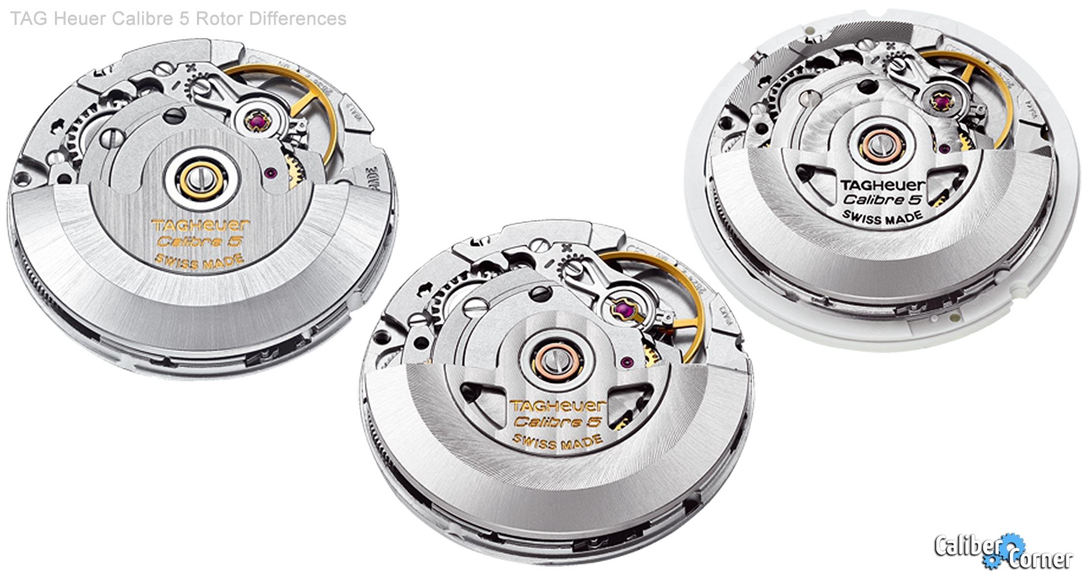 Tag Heuer Calibre 5 Rotors