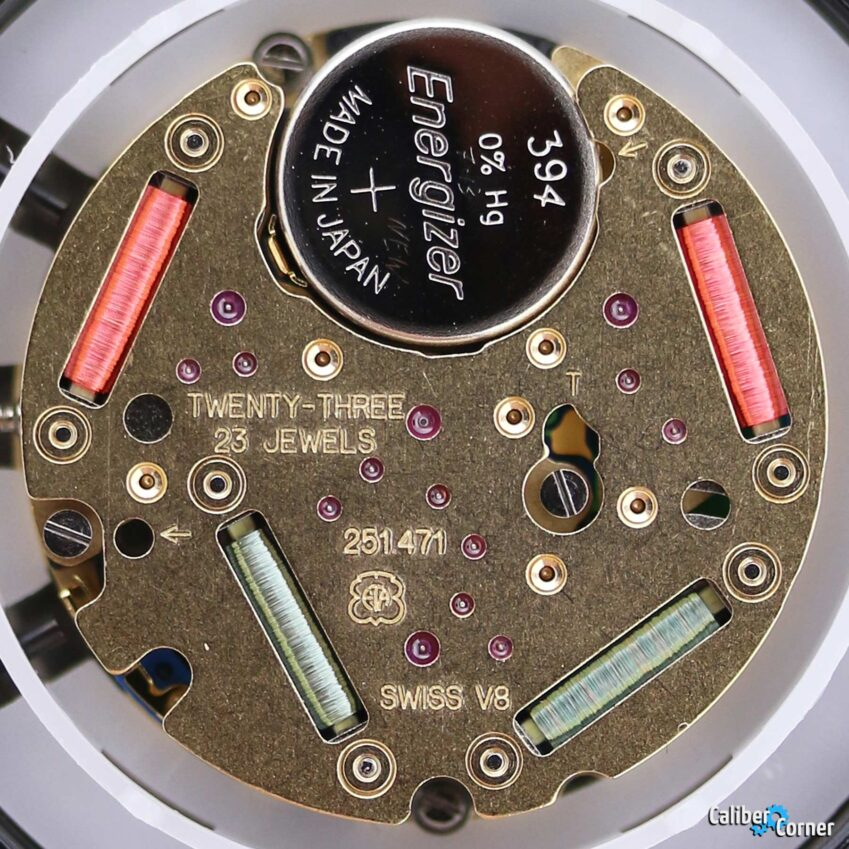 ETA Watch Movement 251.471 Quartz