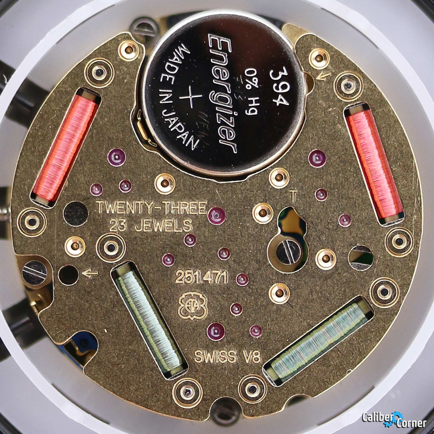ETA Watch Movement 251.471 Quartz