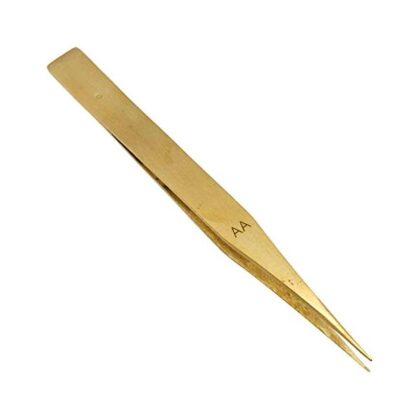 Brass Watchmaker Tweezers Anti Magnetic
