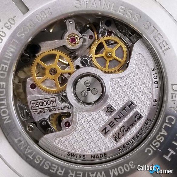 Zenith El Primero Caliber 4000sc