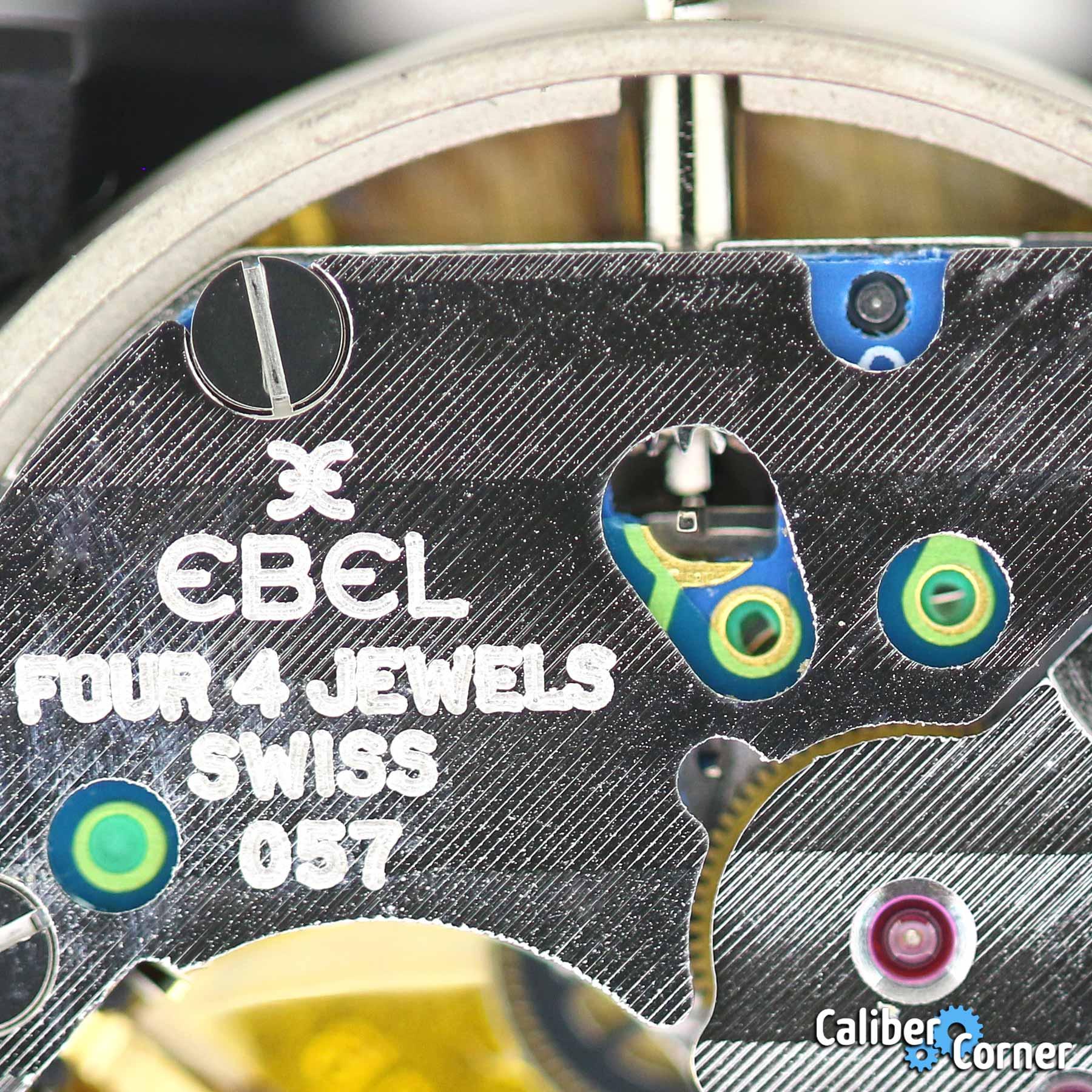 Ebel Caliber 057 Macro