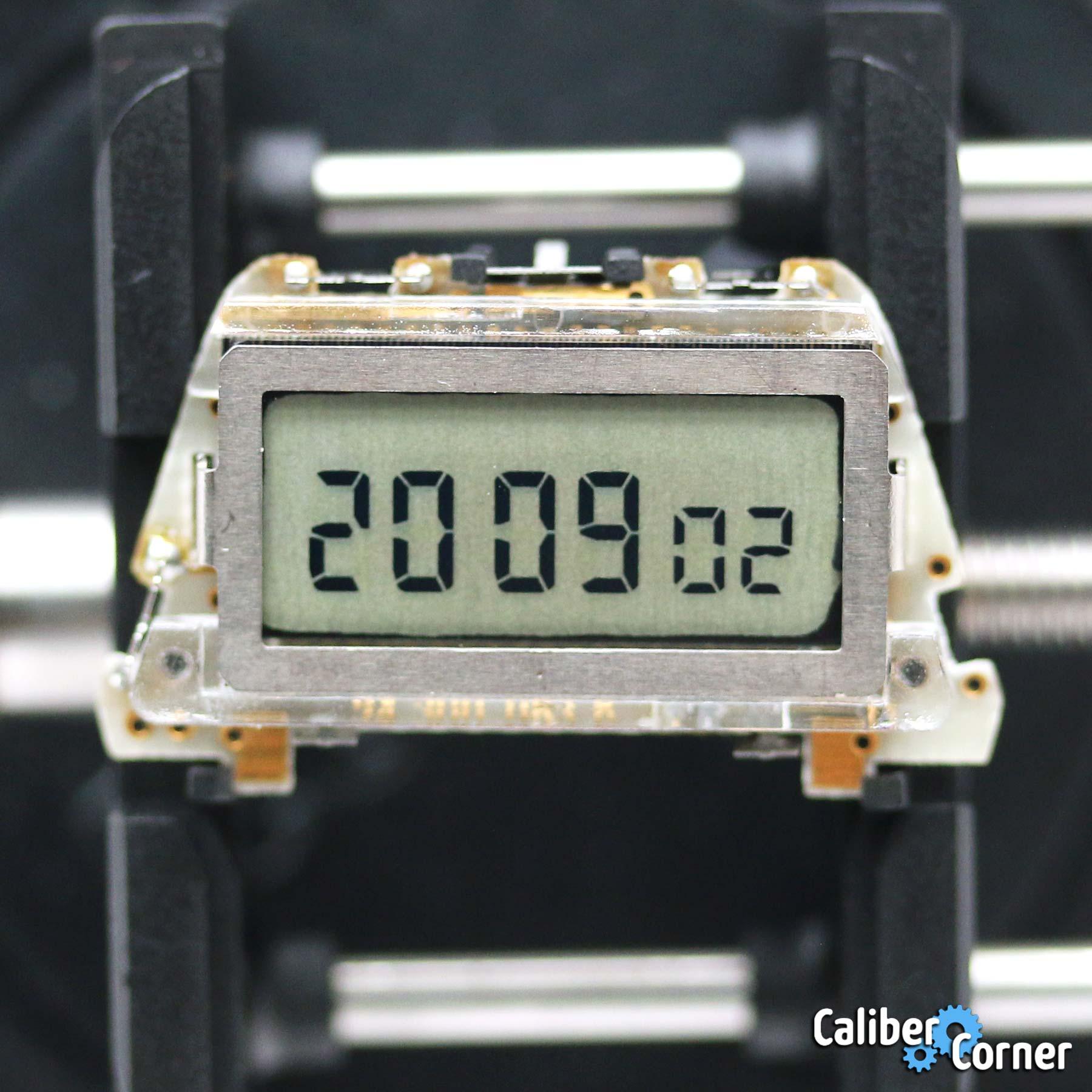 Heuer Caliber 107 Digital