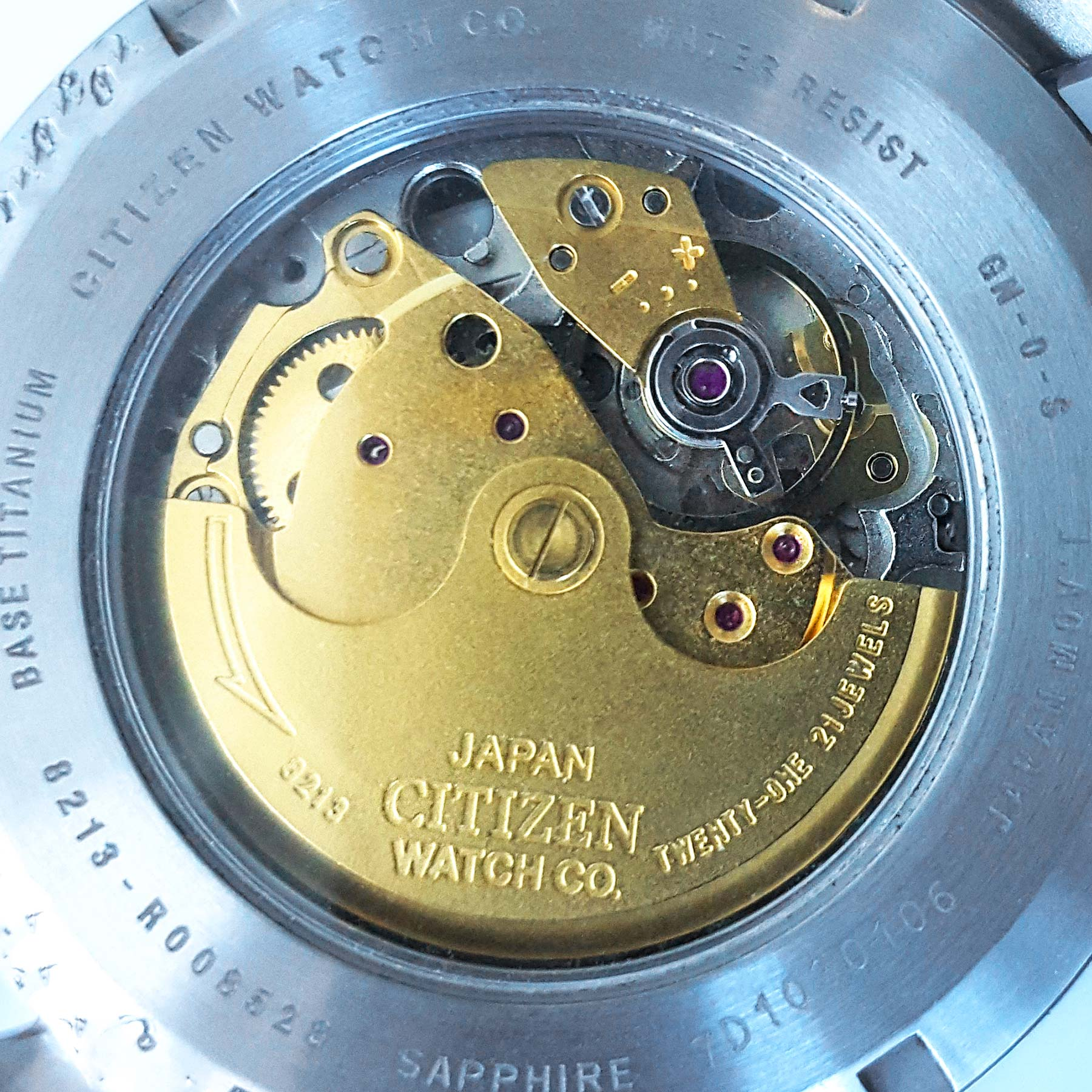 Citizen Caliber 8213