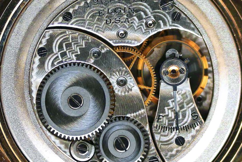 Elgin Grade 418 Pocket Watch Movement