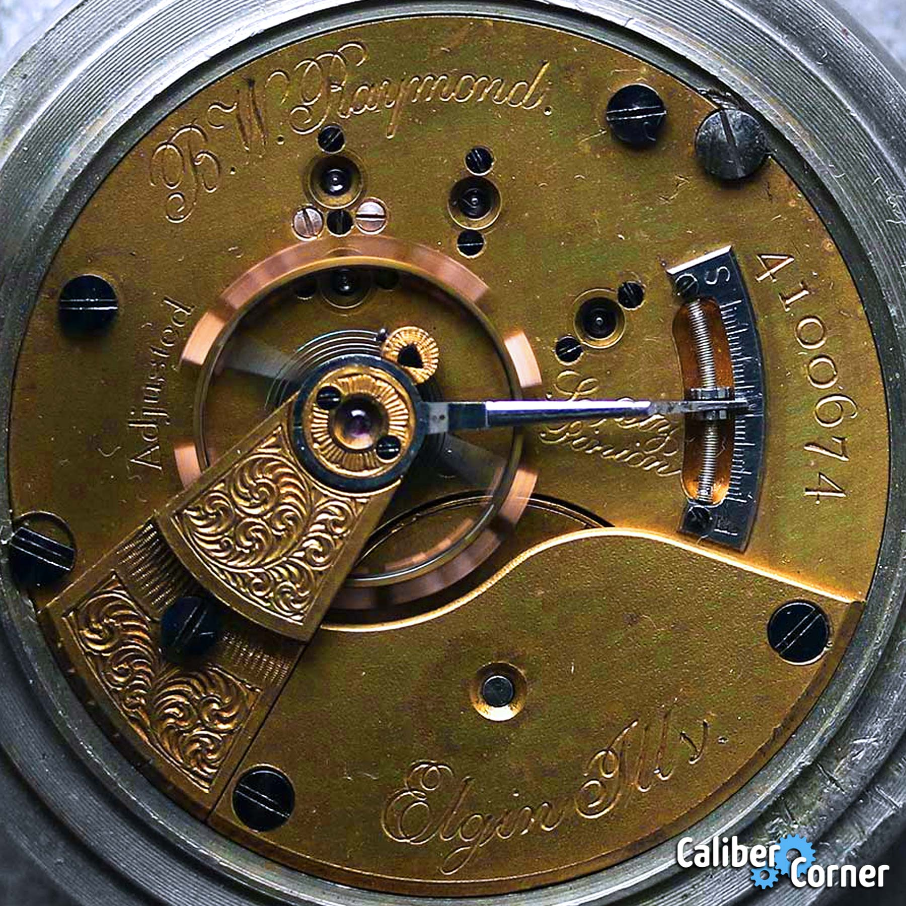 Elgin Grade 70 Pocket Watch Movement