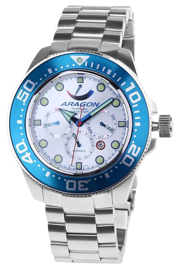 Aragon Dive Watch Miyota 9100