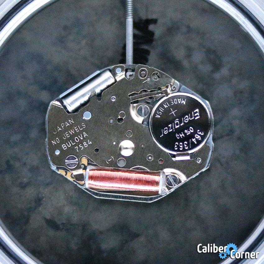 Bulova Caliber 7584