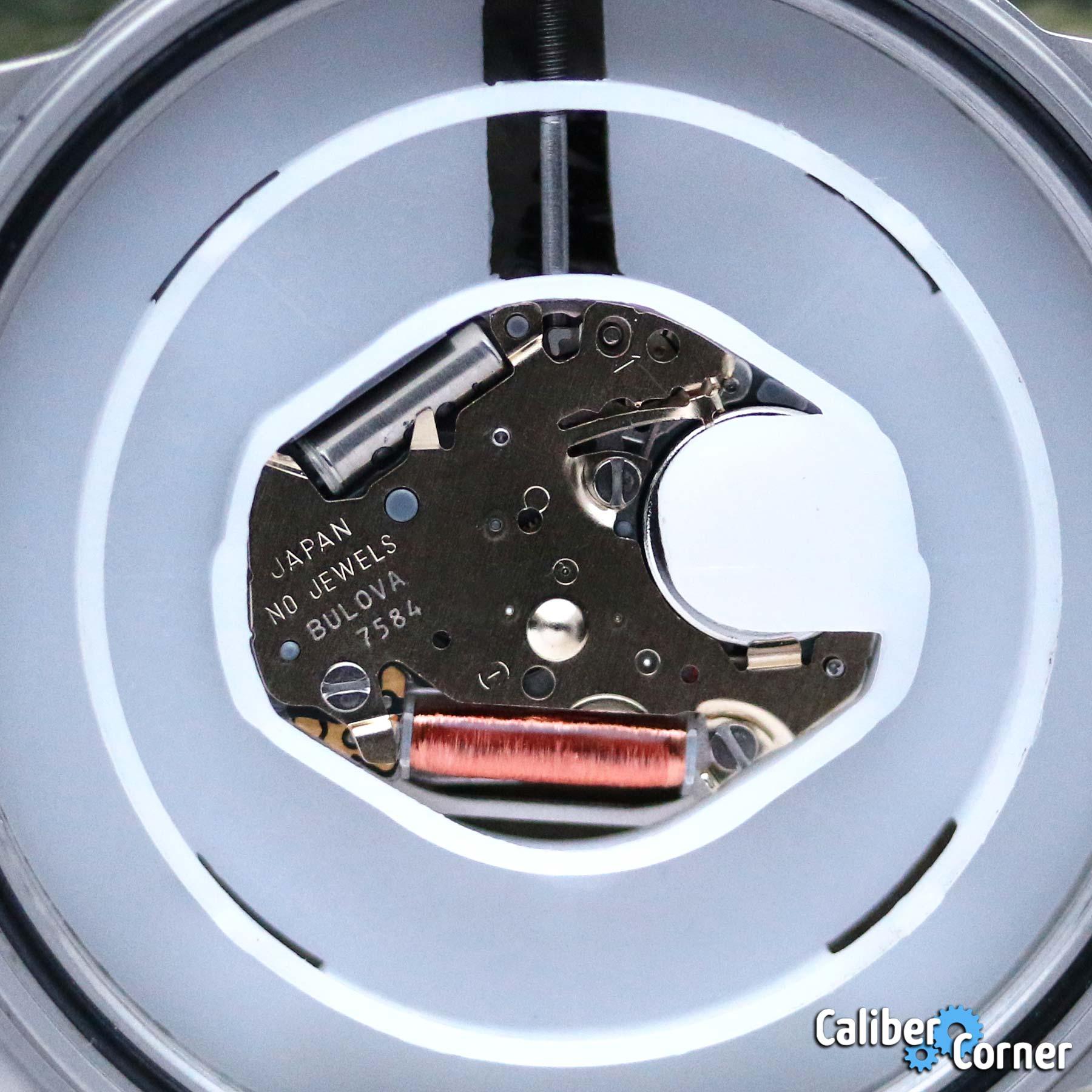 Bulova Caliber 7584 Plastic Holder