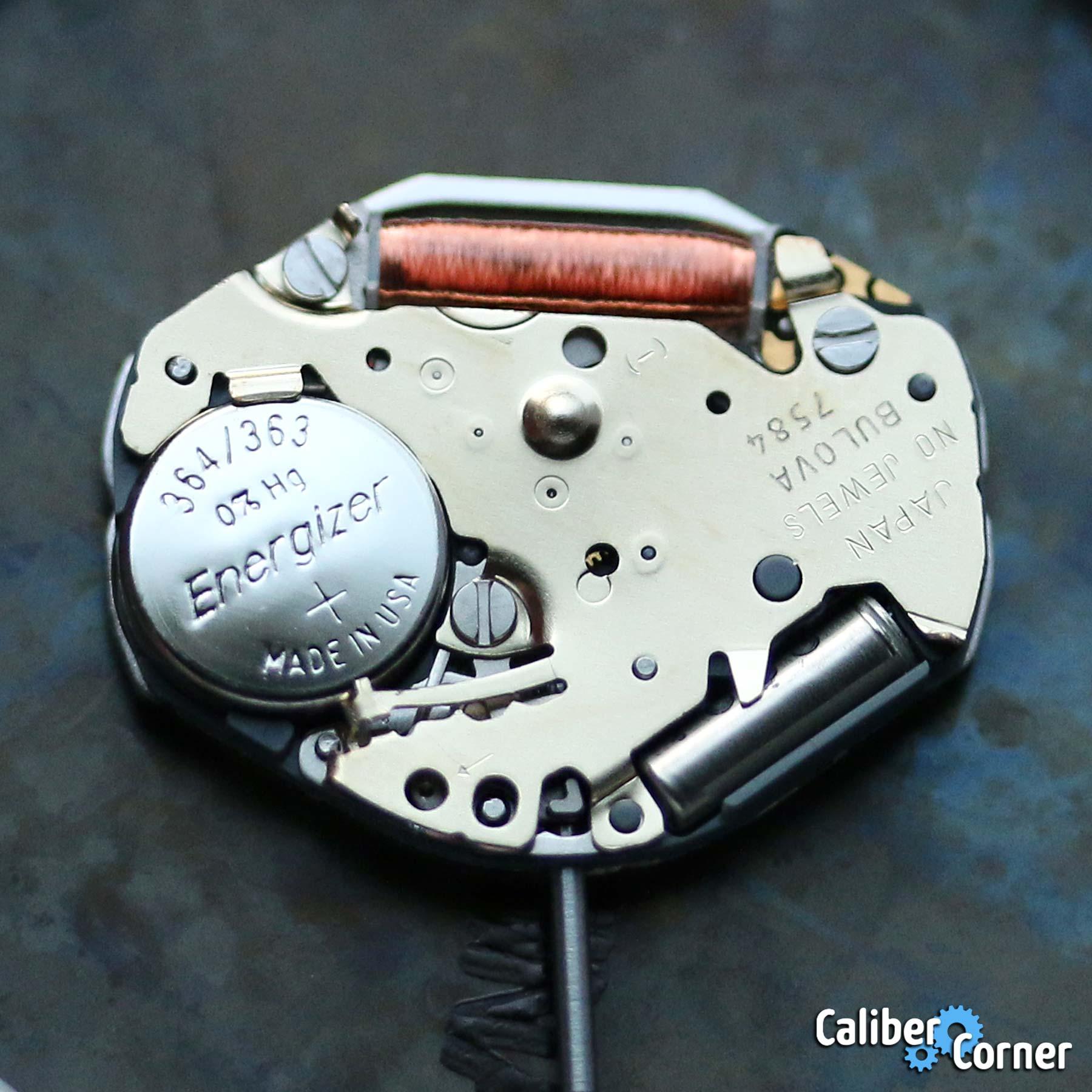 Bulova Caliber 7584 Quartz