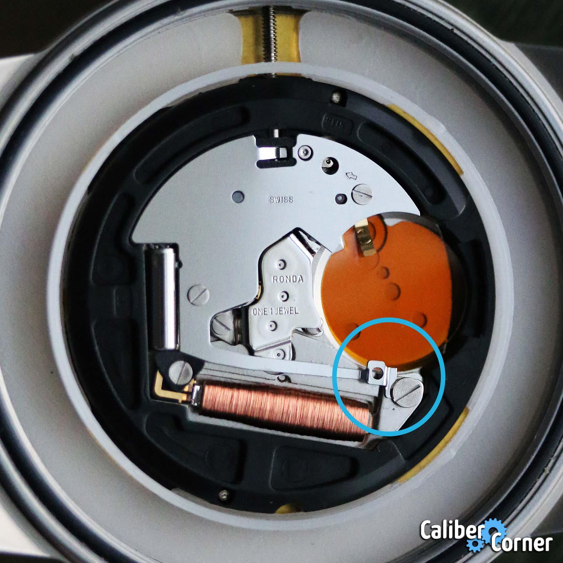 Ronda Caliber 513s Battery Replacement