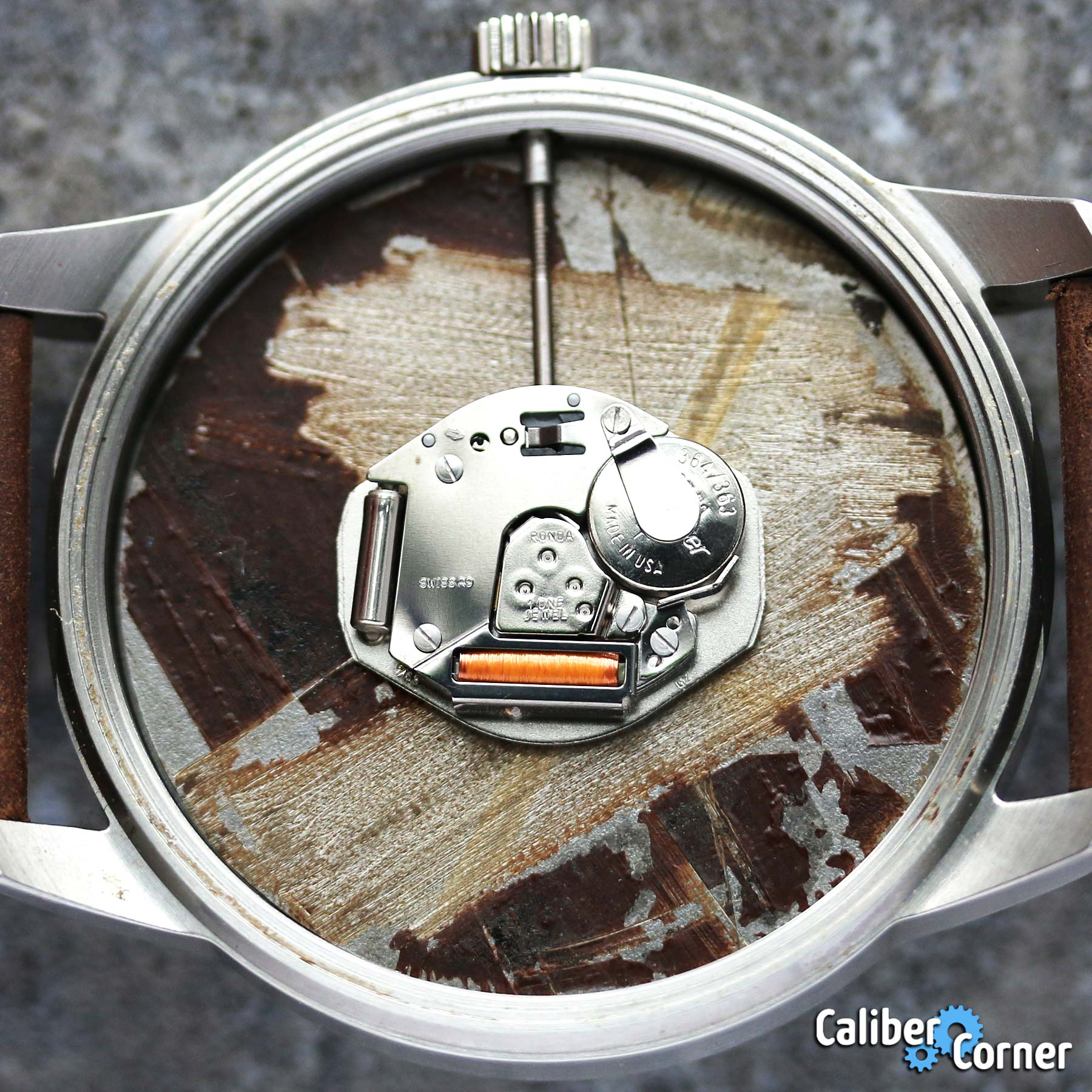 Ronda Caliber 763 Nickel
