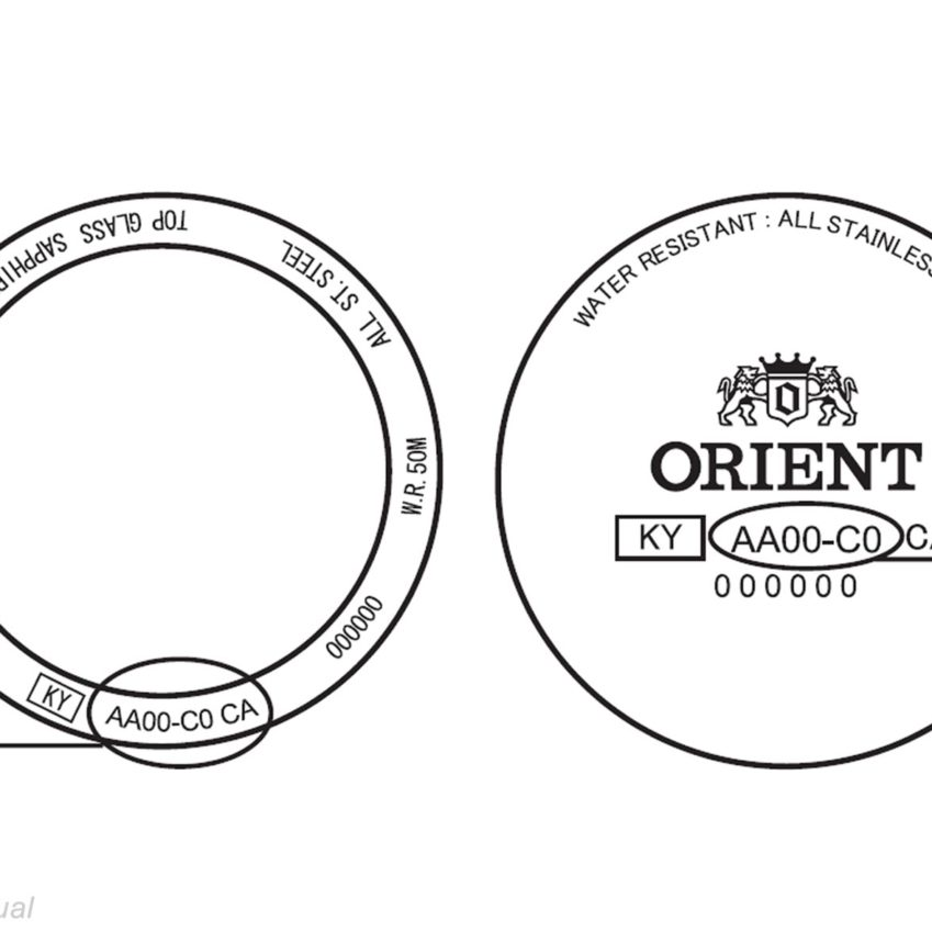 Locating Orient Caliber Numbers