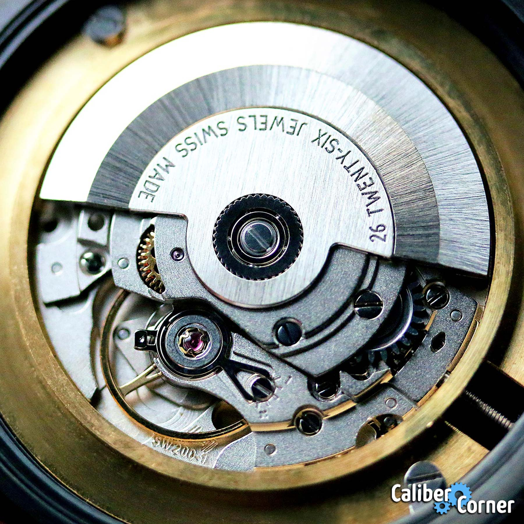 Sellita Caliber Sw200 1 Movement
