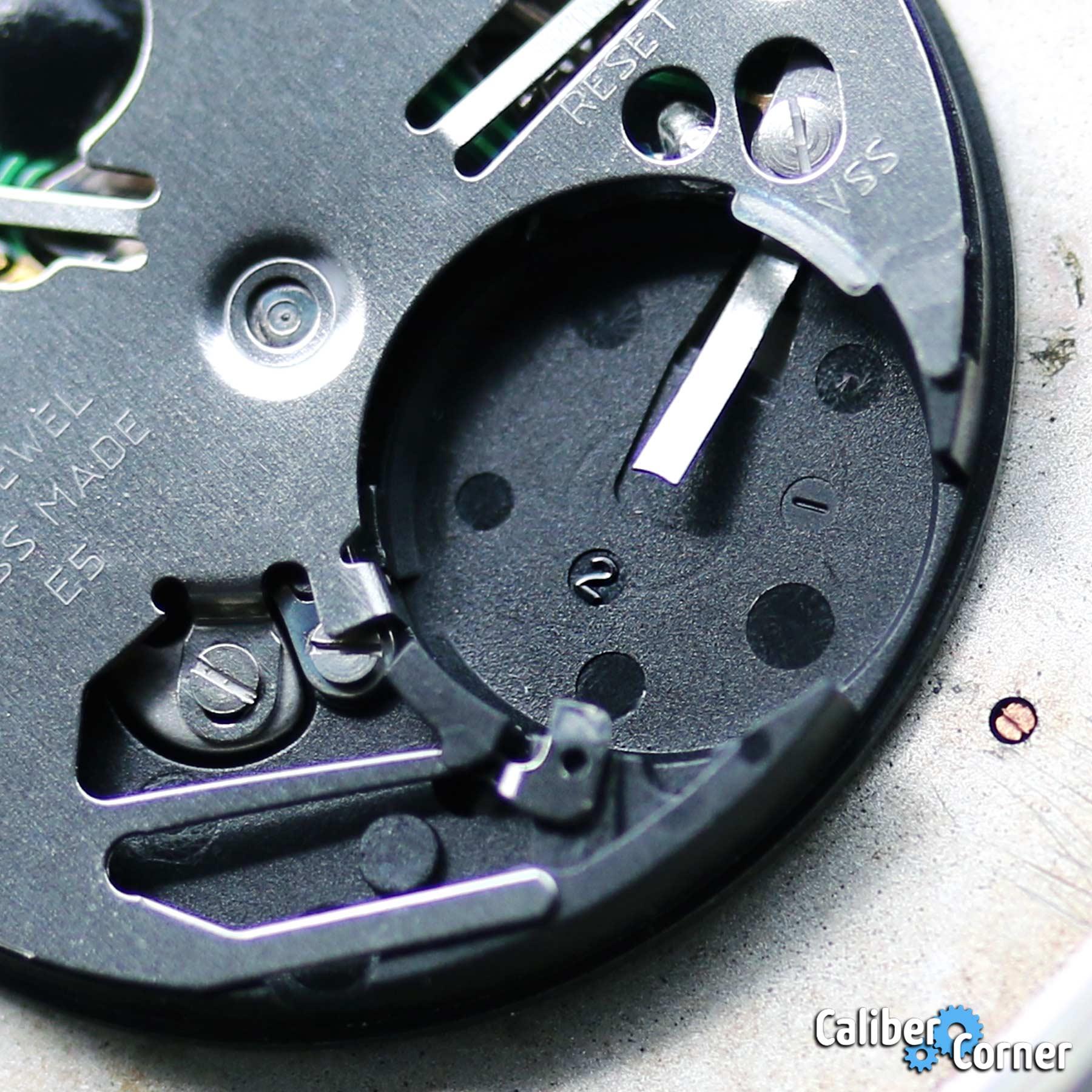 Isa Caliber 2330 Battery Slot