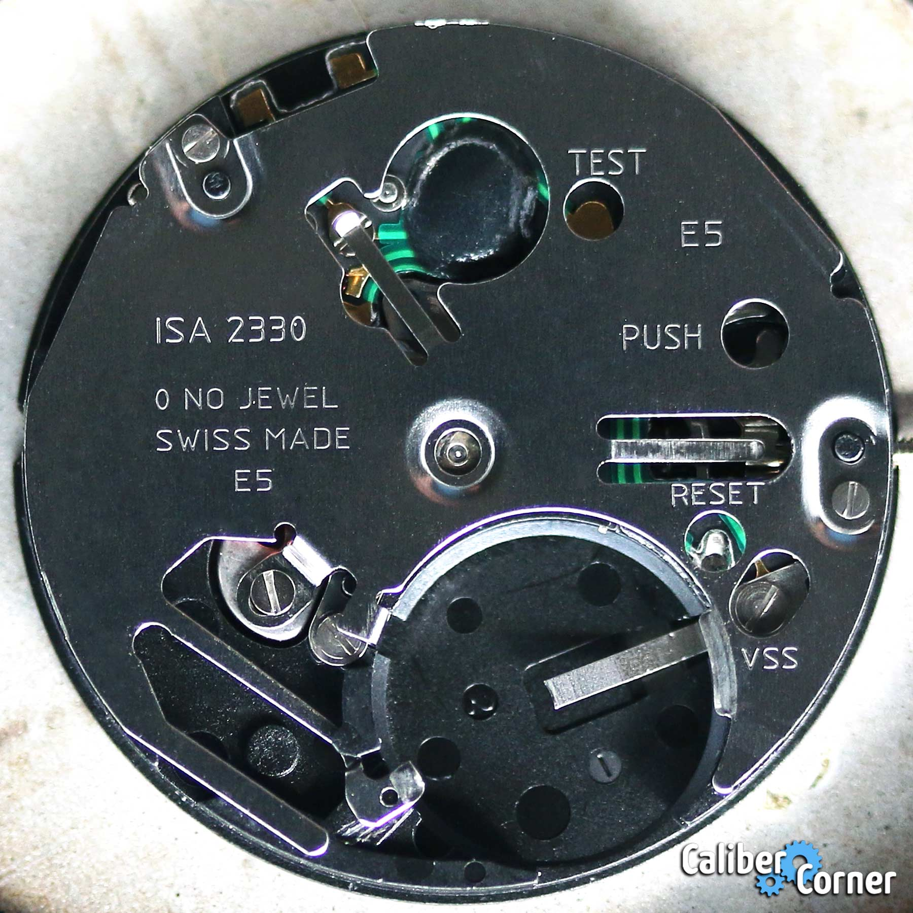 Isa Caliber 2330 Battery