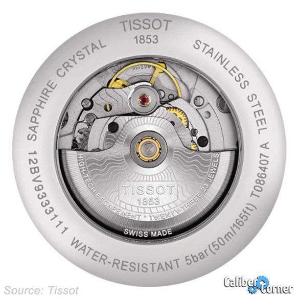 Tissot Caliber Powermatic 80