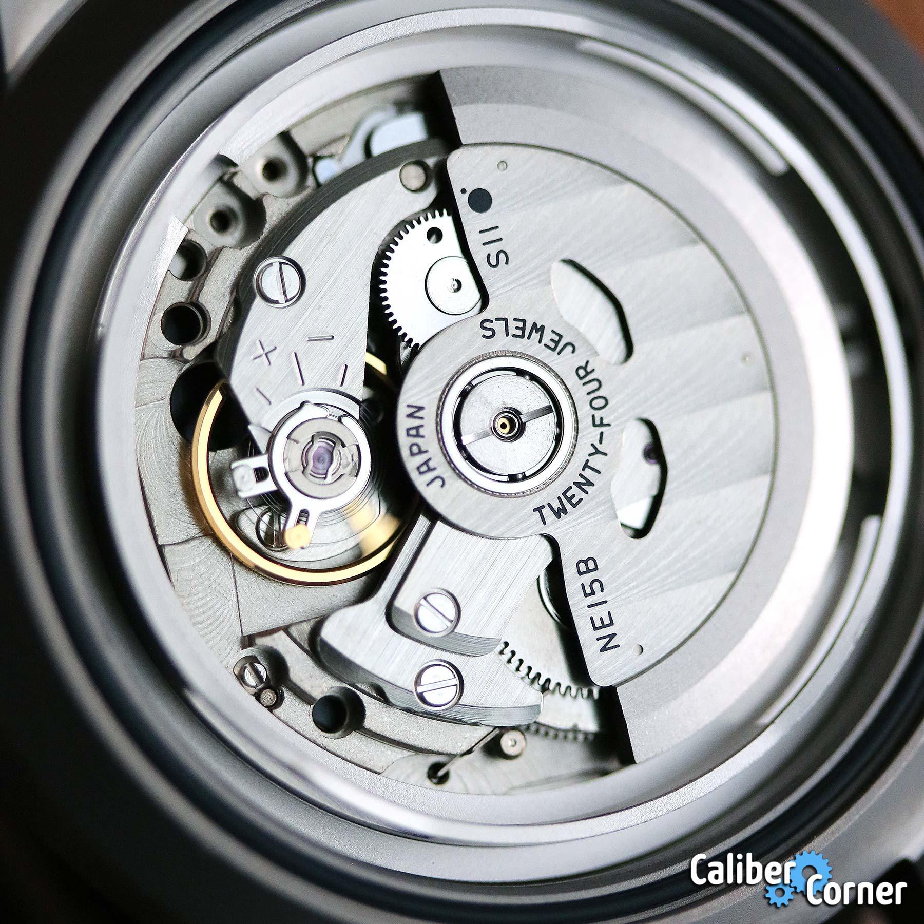 Sii Caliber Ne15b Watch Movement