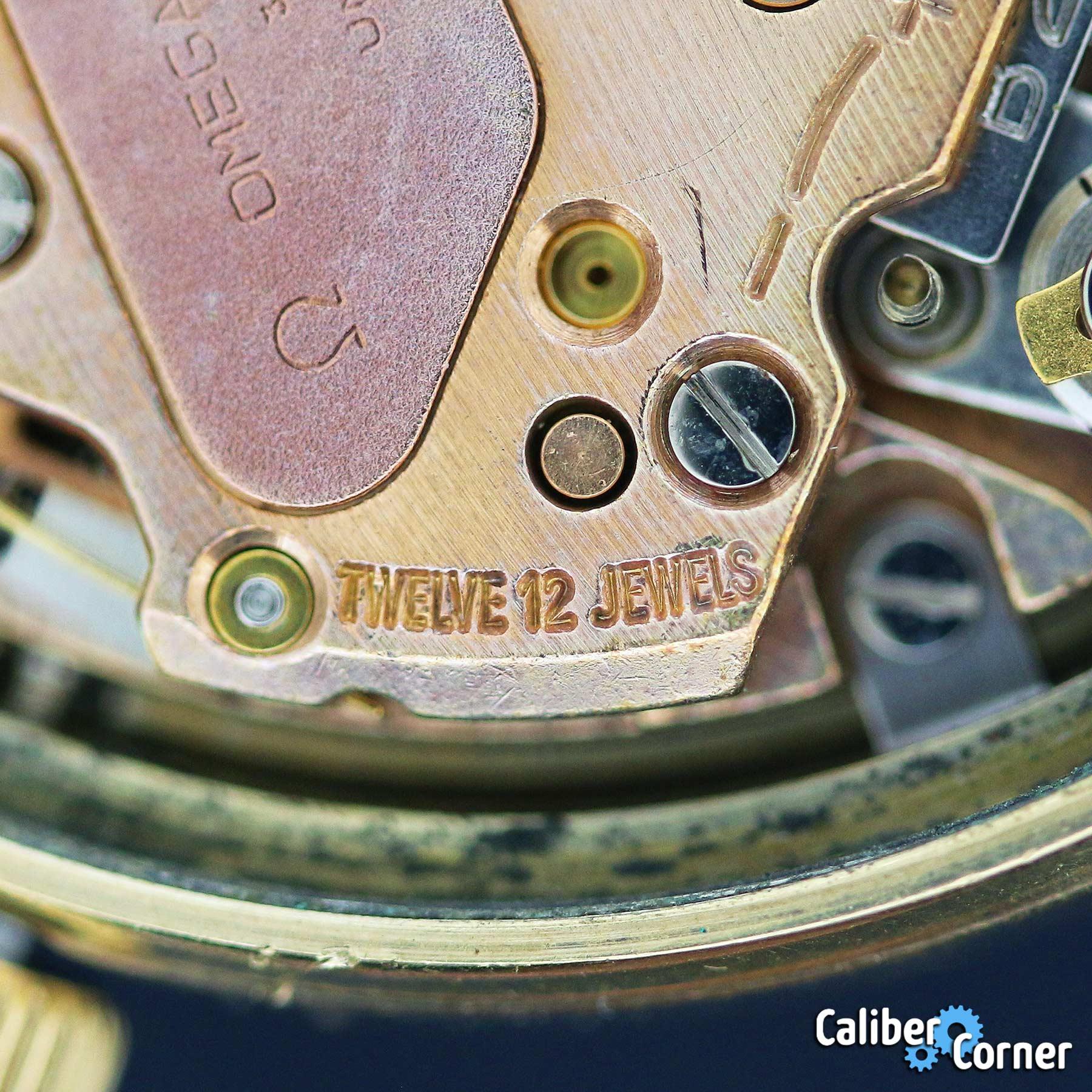 Omega Caliber 1250 12 Jewels