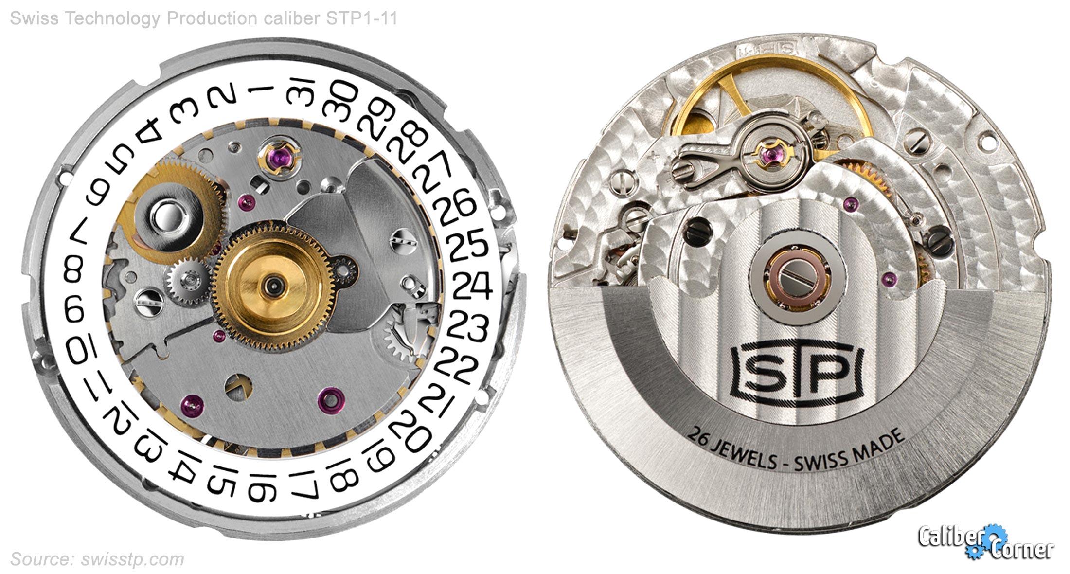 Swiss Technology Production Caliber Stp1 11