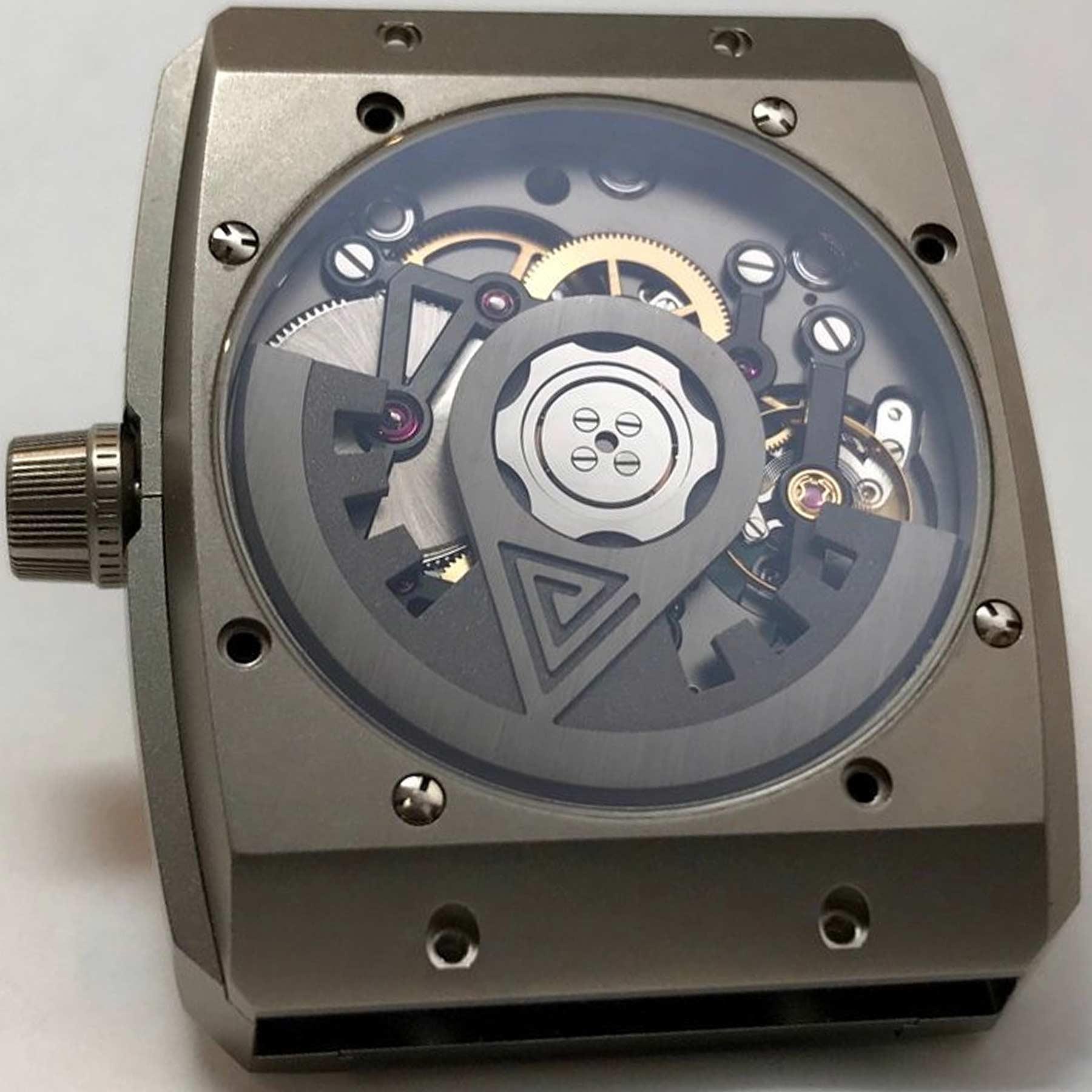 Vault Caliber V01 V1 Caseback