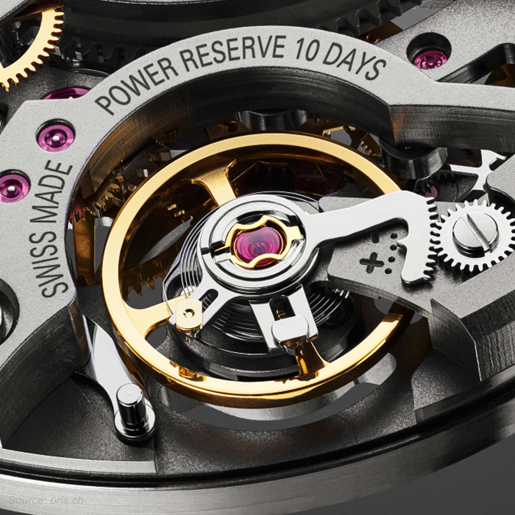 Oris Caliber 115 Balance Wheel