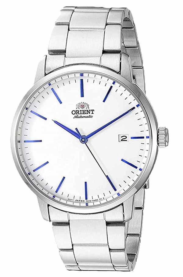 Orient Ra Ac0e02s10a F6722 White Blue Watch