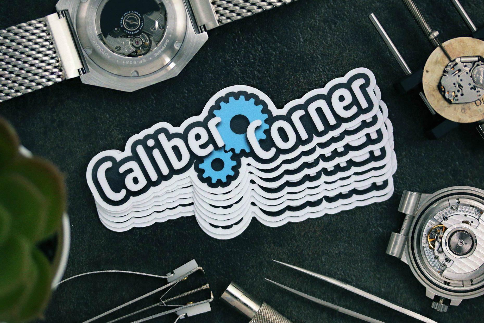 Caliber Corner Sticker V1