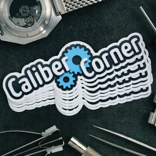 Caliber Corner Sticker V1