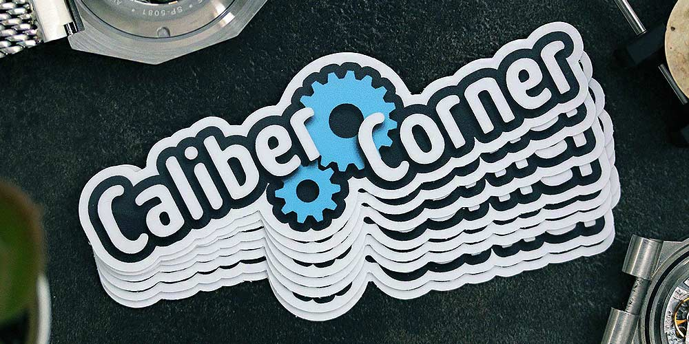 Caliber Corner Stickers 10