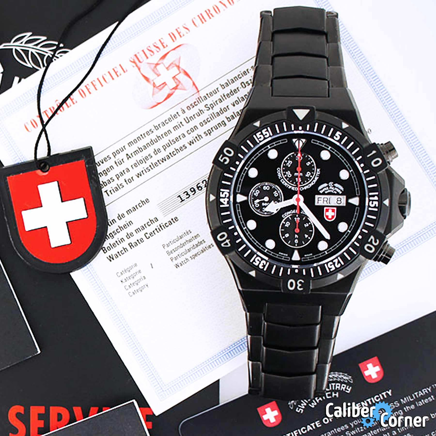 Cosc Certificate Examples Swiss Military Watch
