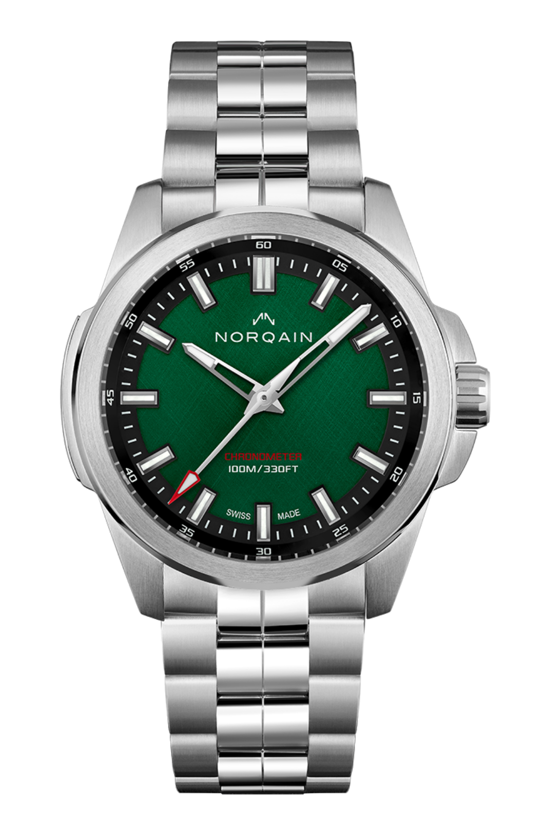 Norqain Nn3000 Independence 20 Green Dial Limited Edition