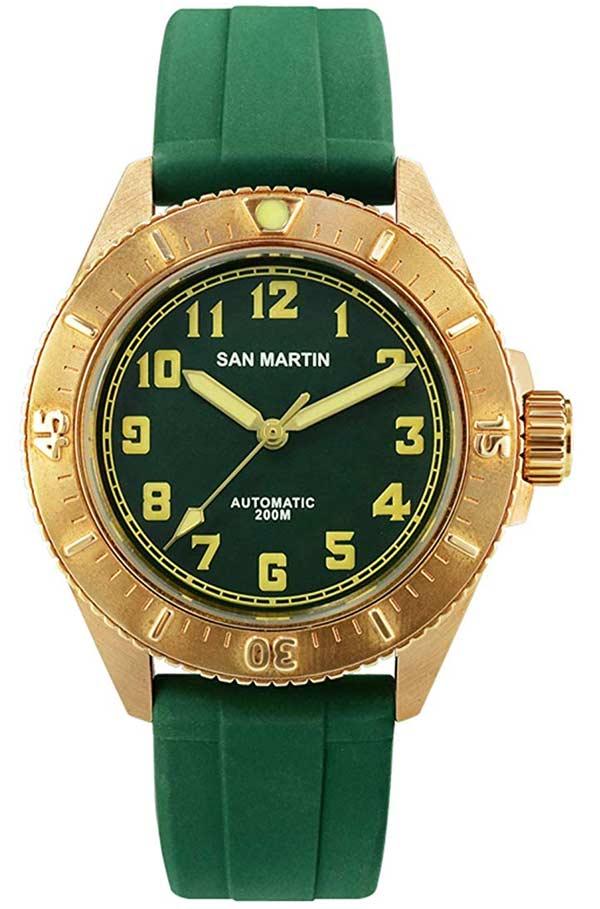 San Martin Green Diver Pt5000