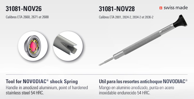Novodiac Tool Bergeon 31081 Nov26 Nov28