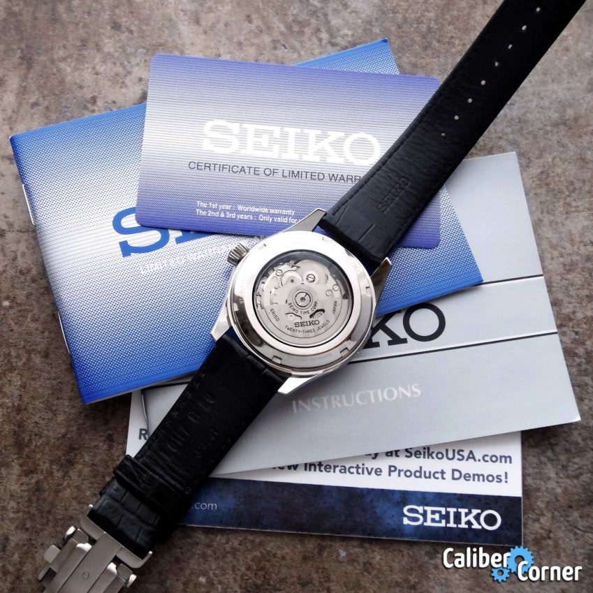 Seiko Official Watch Service Overhaul