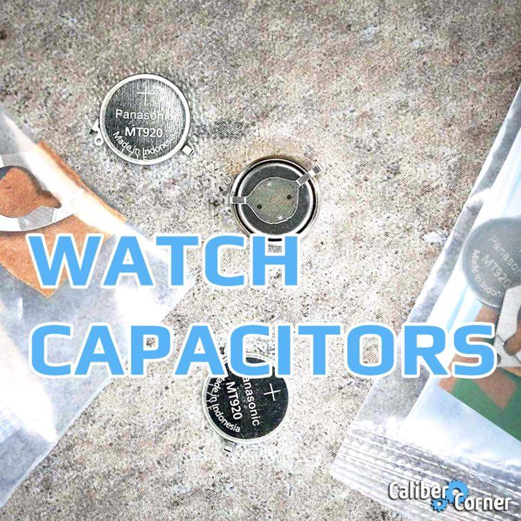 Watch Capacitors Accumulators Square