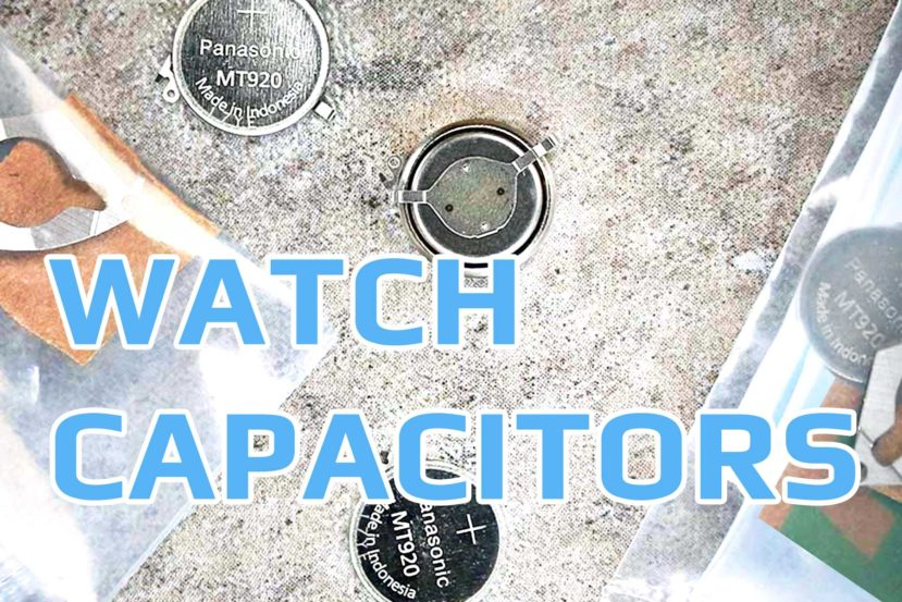 Watch Capacitors Accumulators Square