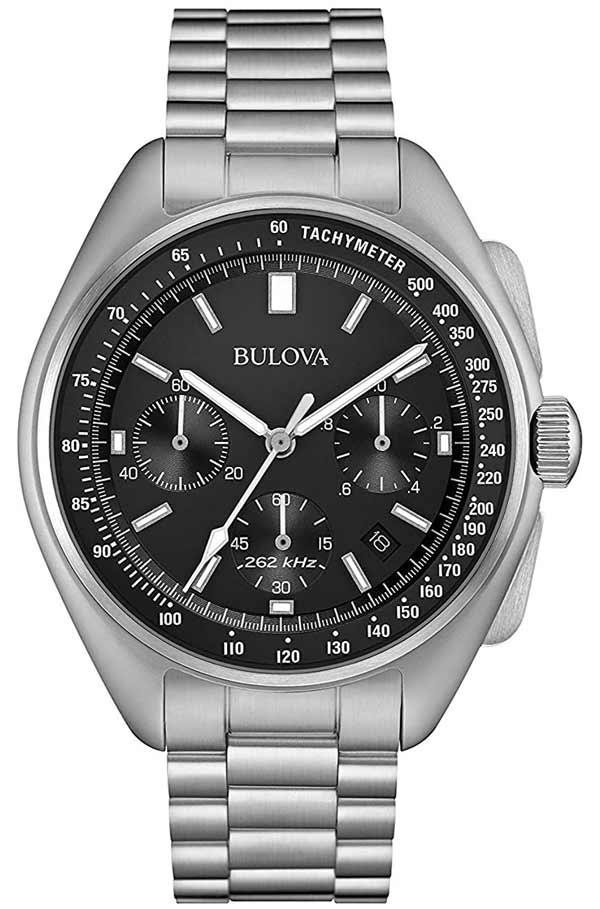 Bulova Lunar Pilot Chrono 96b258 8136