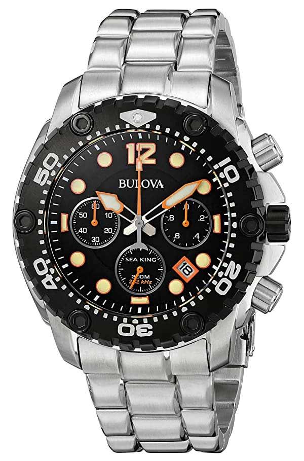 Bulova Sea King 98b244 8136