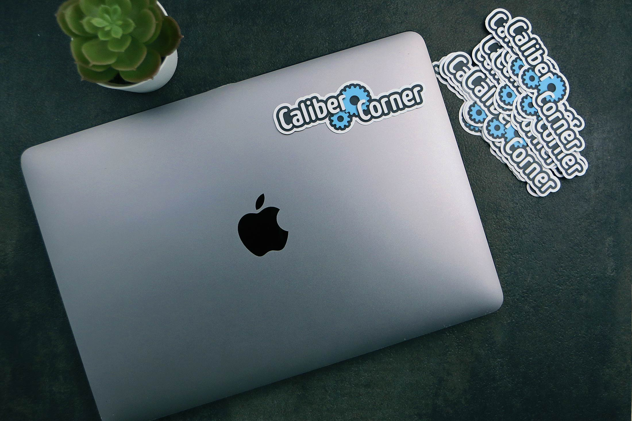 Caliber Corner Sticker V1 12 Macbook