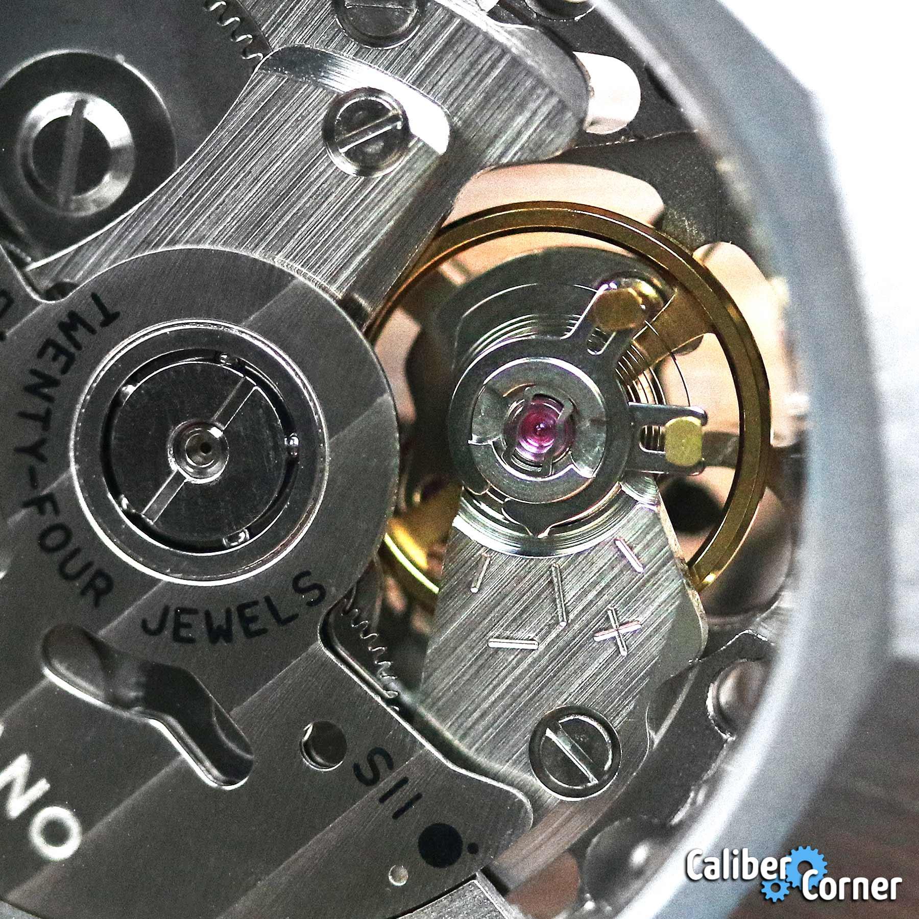 Seiko Caliber Nh70 D1 Milano Macro Balance Wheel