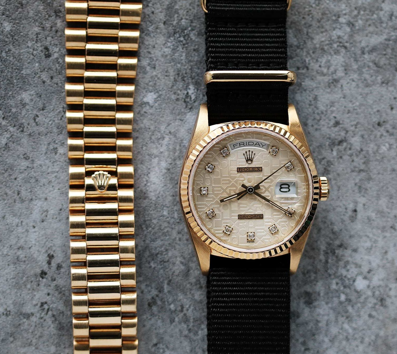Rolex Day Date Anniversary Dial watch for sale