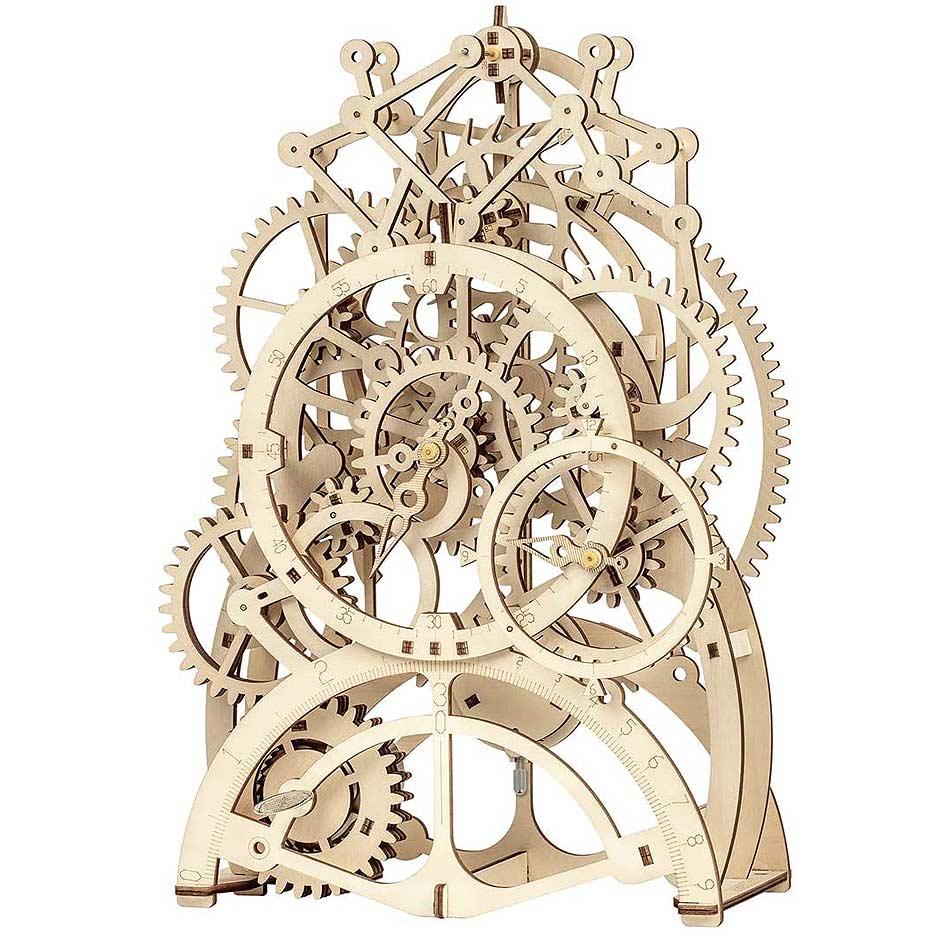 Diy Wooden Clock Puzzle
